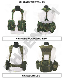 MILITARY VESTS