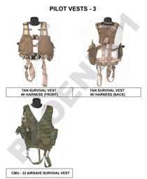 PARACHUTES & FLIGHT VESTS