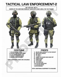 POLICE TACTICAL SETS